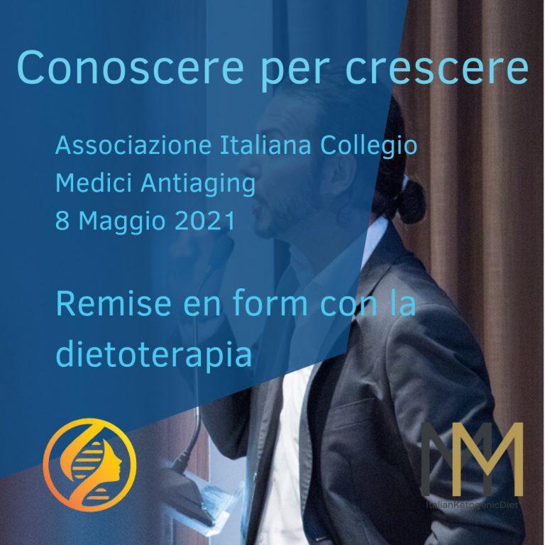 Remise en Forme con la Dietoterapia – AICMA – Corso ECM