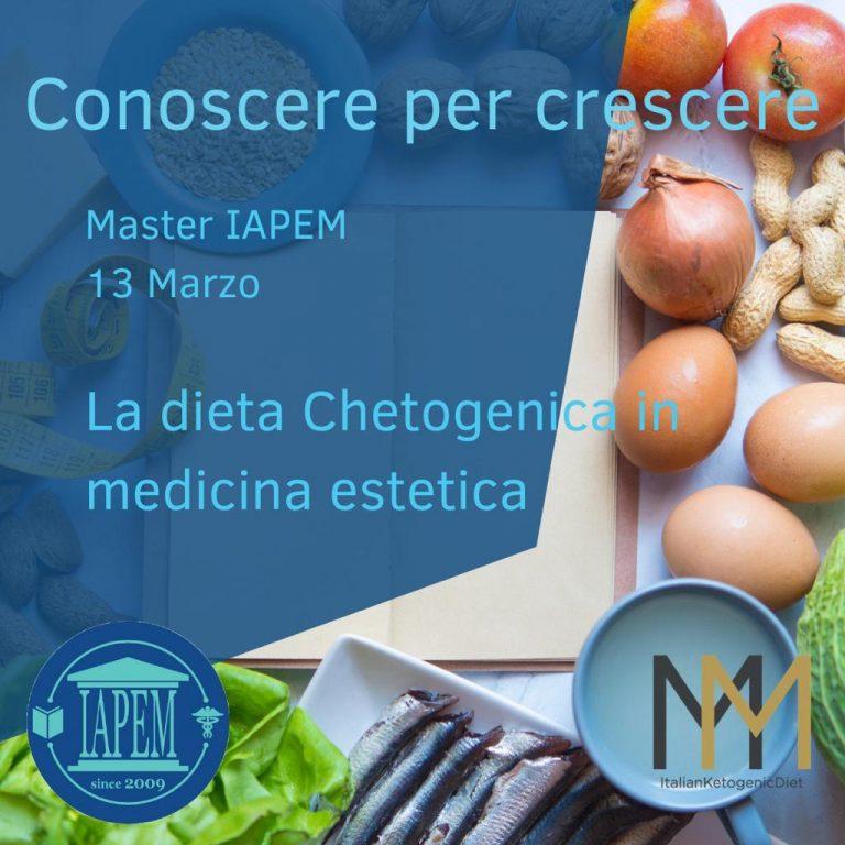 La Dieta Chetogenica in medicina estetica