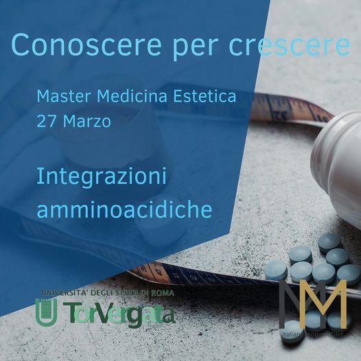 Integrazioni Amminoacidiche – Master Medicina Estetica