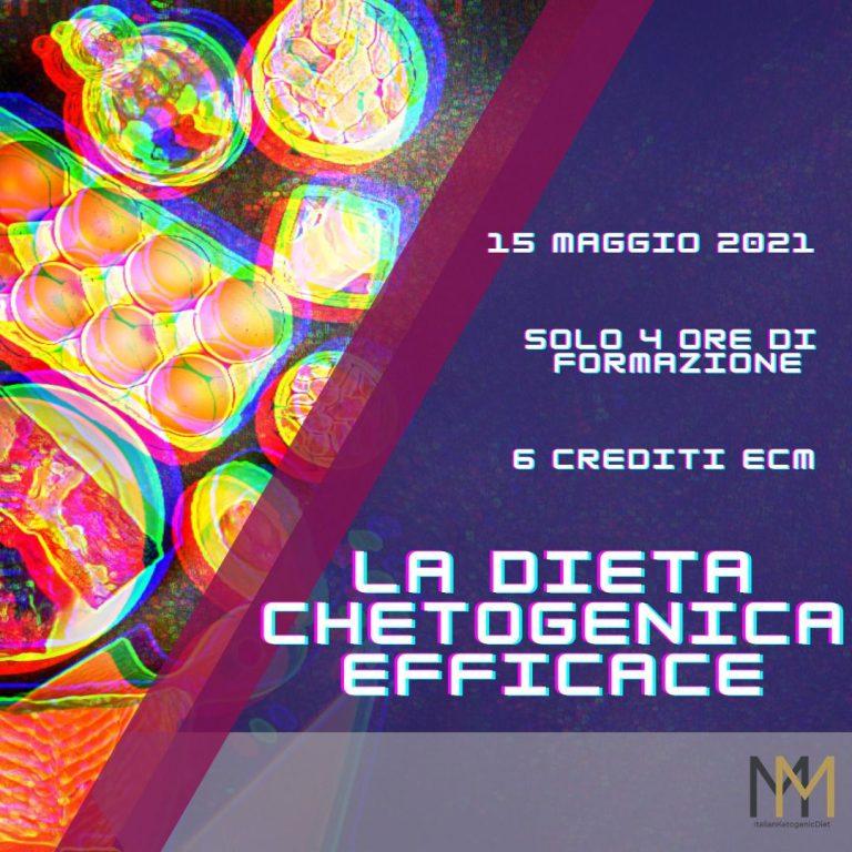 La Dieta Chetogenica Efficace – Corso ECM