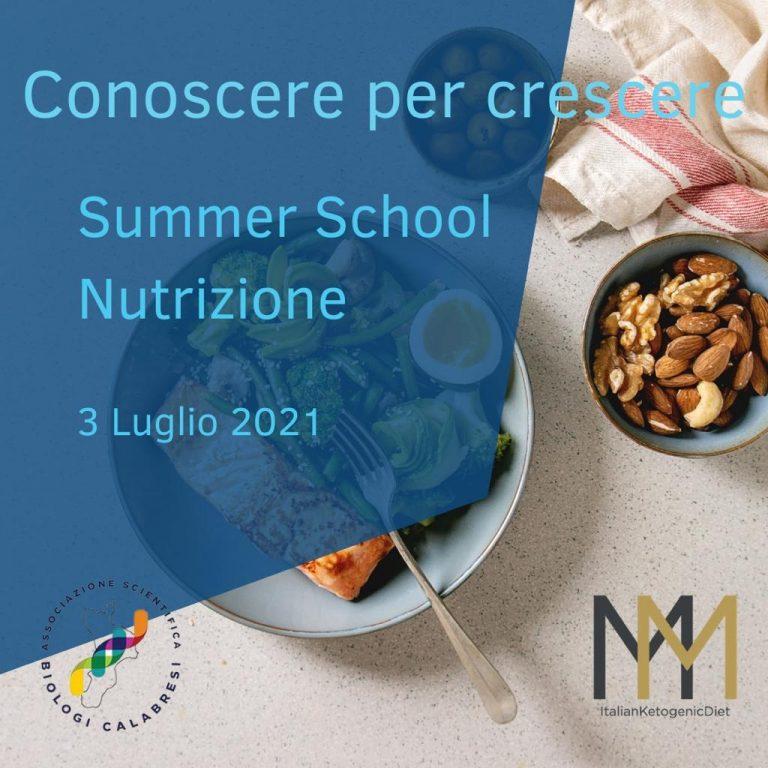 Summer School Nutrizione