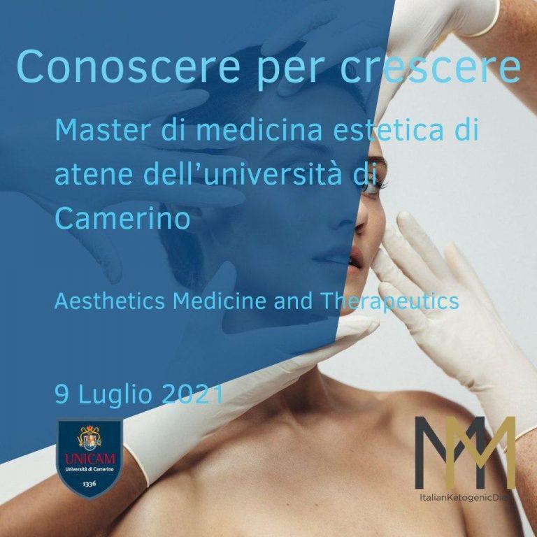 Master di medicina estetica di atene dell'università di Camerino