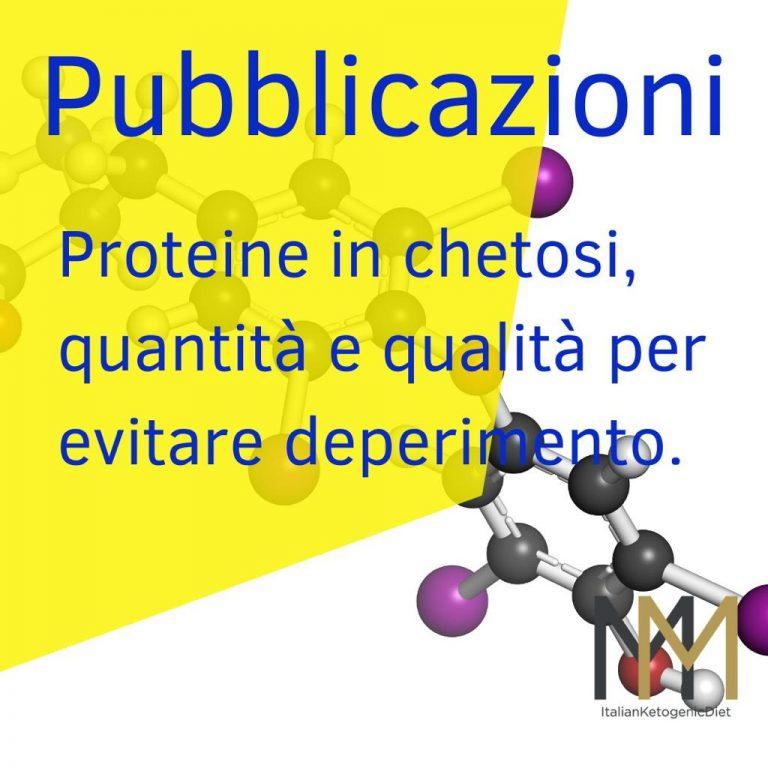 Proteine in chetosi, quantità e qualità per evitare deperimento