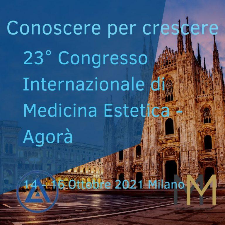 23° Congresso Internazionale di Medicina Estetica – 14/16 Ottobre