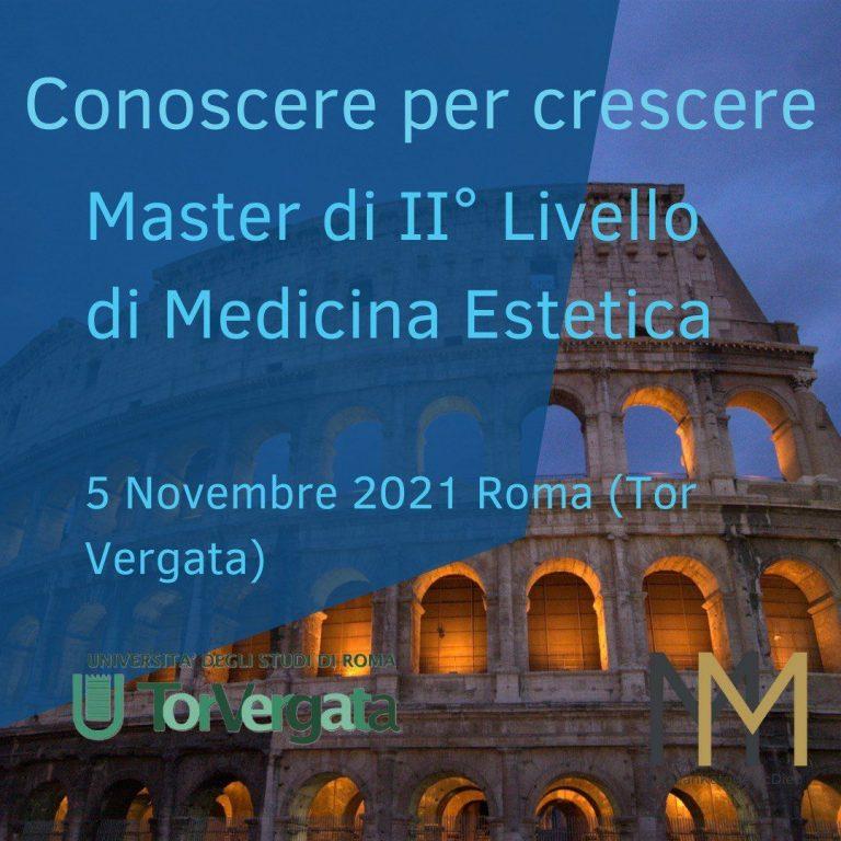 Master di II° livello di Medicina Estetica